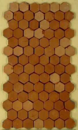 set baldosas hexagonales